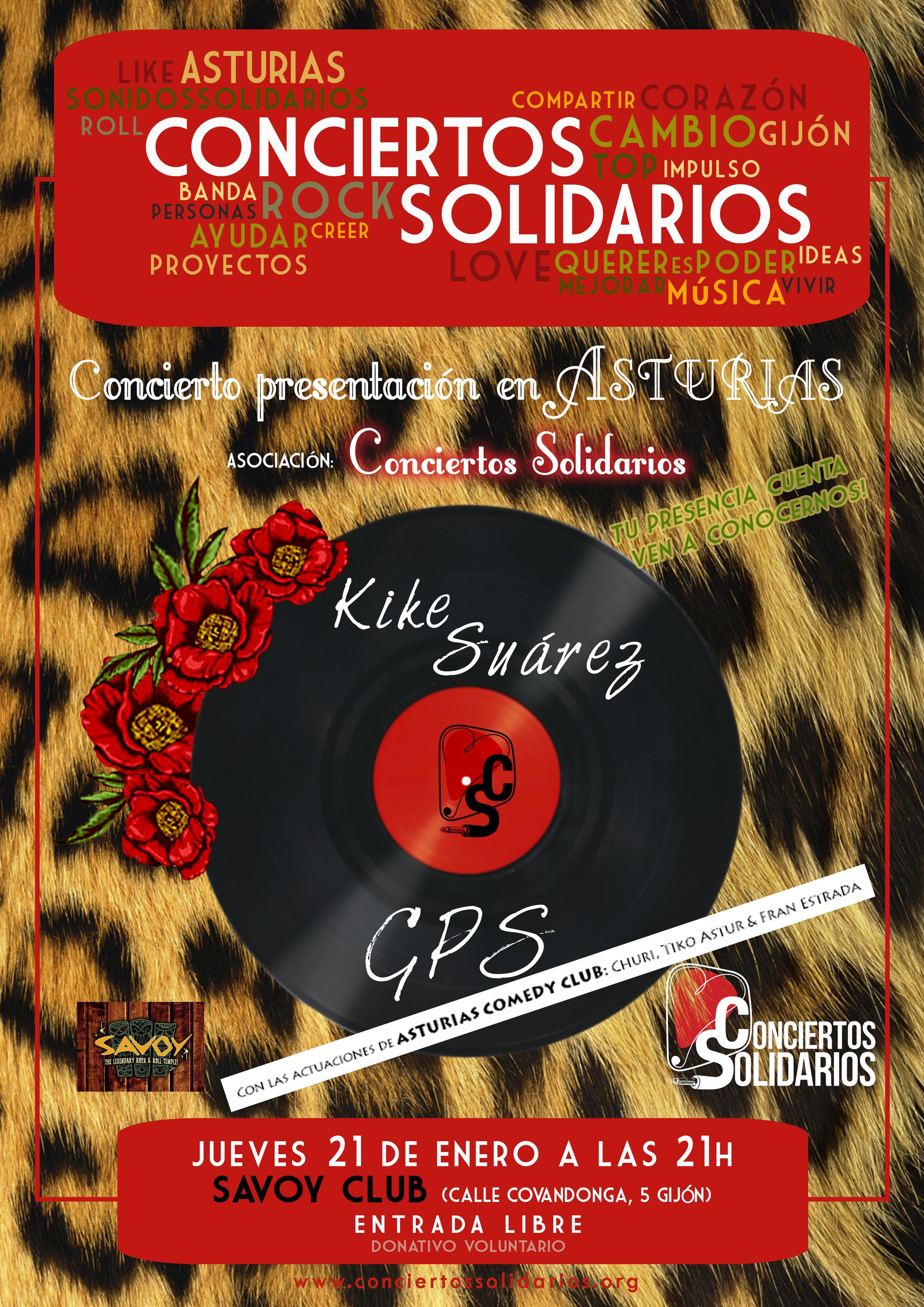 Concierto Solidario Asturias